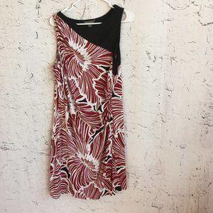 TOMMY BAHAMA BOTANICAL PRINT DRESS XL TG